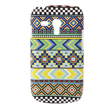 Farverige mønster hårdt tilfældet for Samsung Galaxy S3 mini I8190