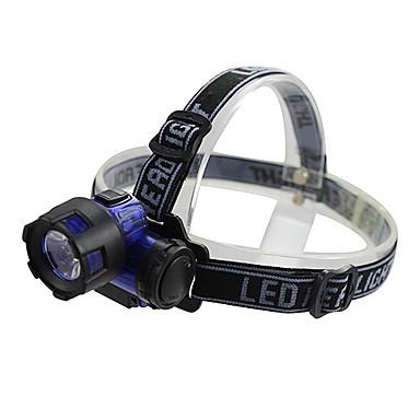 LED Fenerler Kafa Lambaları LED Lümen 1 Kip AAA Kamp/Yürüyüş/Mağaracılık