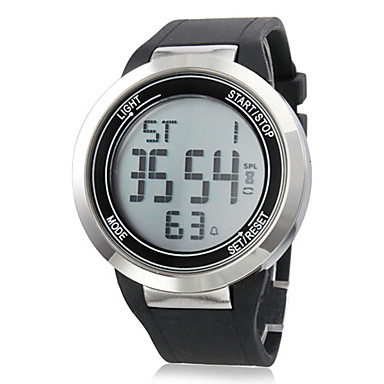Unisex Touch Screen Style Rubber Digital Automatic Wrist Watch (Assorted Colors)