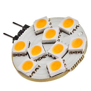 SENCART 1.5W 3200lm G4 LED Bi-pin Işıklar 9 LED Boncuklar SMD 5050 Sıcak Beyaz 12V