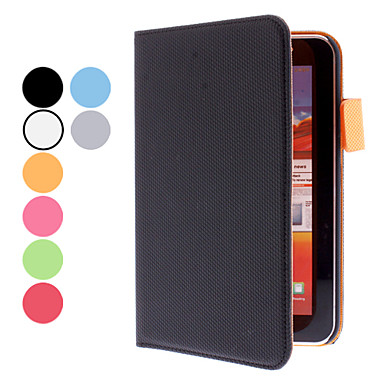 Basketball Grain Protective PU Leather Case for Samsung Galaxy Tab P3100 (Assorted Colors)