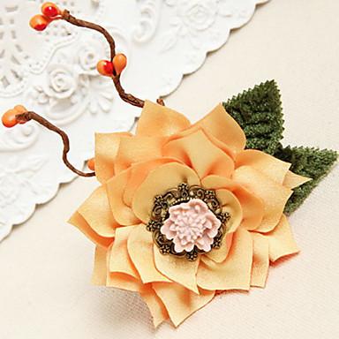 Vintage Lace Flower Pattern Woven Bracelet