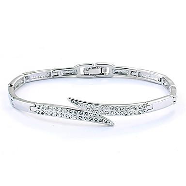 Silver Fashion Diamond Bracelet