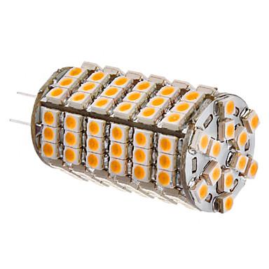 SENCART 3500 lm G4 LED kukorica izzók 102 LED gyöngyök SMD 3528 Meleg fehér 12 V