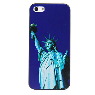 PC the Statue of Liberty Pattern Hard Case for iPhone 4/4S
