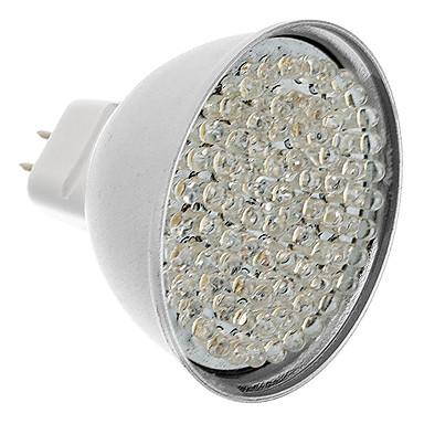 MR16 5W 81-LED 400-450LM 3000-3500K Warm White Light LED Spot Bulb (12V)