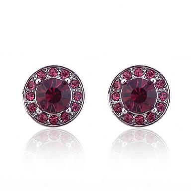 Γυναικεία Κουμπωτά Σκουλαρίκια Κρύσταλλο Κράμα Κοσμήματα Πάρτι Καθημερινά Causal