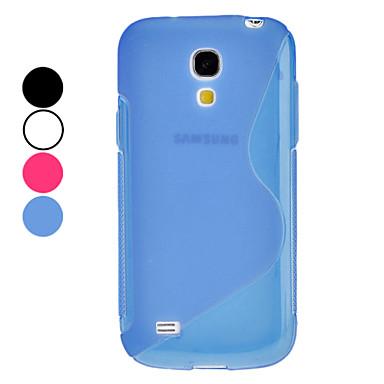 S Shape Soft Case for Samsung Galaxy S4 Mini I9190