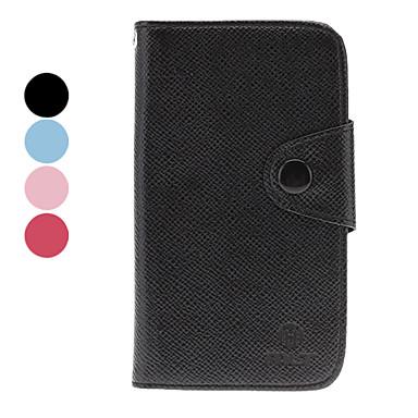 Étui en cuir PU avec logement pour carte pour Samsung Galaxy I8730