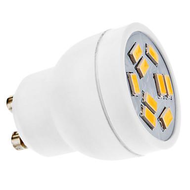 GU10 LED Spotlight MR11 9 SMD 5630 270lm Warm White 3500K AC 220-240V