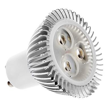 1pc 4.5 W 2700 lm GU10 LED Spot Işıkları 3 LED Boncuklar Yüksek Güçlü LED Sıcak Beyaz 100-240 V
