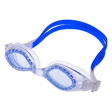 1500 Unisex Overlength Anti-Fog Swimming Goggles(Blue&Transparent)