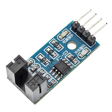 için lm393 karşılaştırıcı hız sensörü modülü-mavi (arduino için) (resmi (arduino için) kurulları ile çalışır)