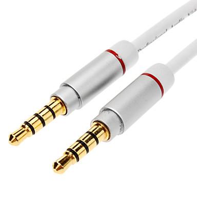 canavar erkek ses kablosu beyaza jsj® 1m 3.28ft 3.5mm erkek Sennheiser yener