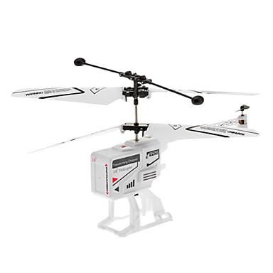 3.5 Canal Blanc escamotable hélicoptère à télécommande avec gyroscope