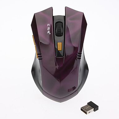 Professional 2.4G Wireless Red Game Mouse (800/1200/1600DPI)
