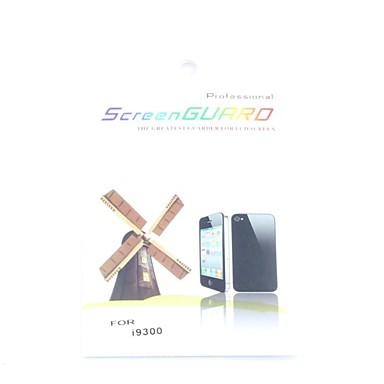 skärmskydd och rengöringsduk för Samsung i9300