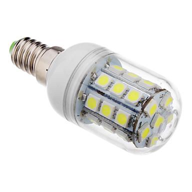 E14 LED Mısır Işıklar T 30 led SMD 5050 Serin Beyaz 390-420lm 6000K AC 220-240V