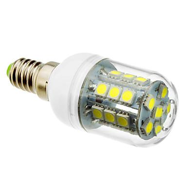 lm E14 LED Mısır Işıklar T 27 led SMD 5050 Serin Beyaz AC 220-240V