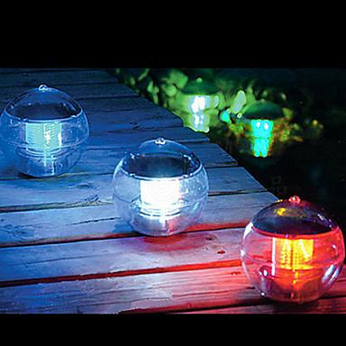 Güneş Enerjisi değiştirme Renk Yüzer Işık Balo Lake Gölet Havuzu lambası LED