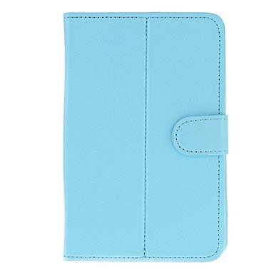 Eran Tablet PC için PU Deri Koruyucu Tablet Kılıf (Saf Mavi)