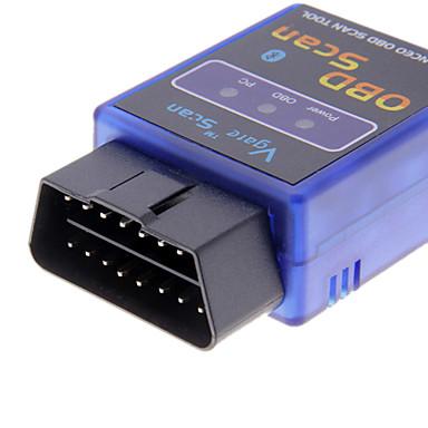 Mini ELM327 V1.5 Bluetooth ELM 327 OBDII OBD2 Protokolleri Otomatik Teşhis Aracı