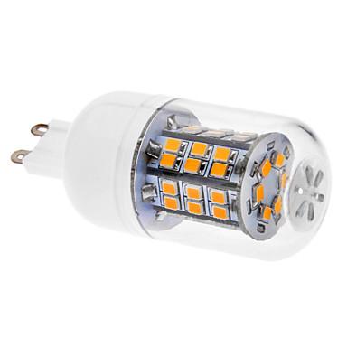 G9 LED Mısır Işıklar T 46 led SMD 2835 Sıcak Beyaz 520-550lm 3000K AC 220-240V