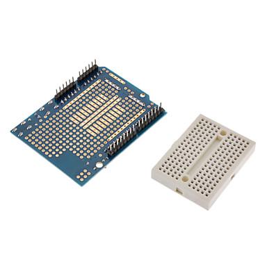 mini breadboard w / prototip kalkan Protoshield (arduino için)