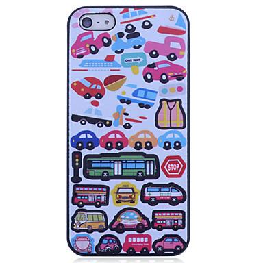 araba modeli iphone 5 / 5s iphone durumlarda için polikarbonat arka durumda