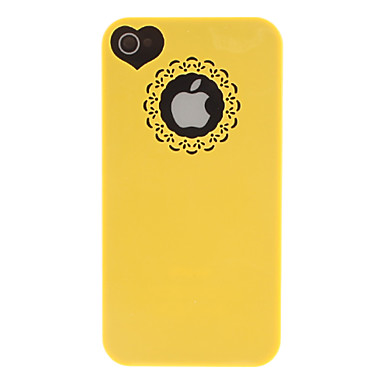 Case For iPhone 4/4S / Apple Back Cover Hard PC for iPhone 4s / 4
