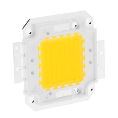 DIY 50W 3950-4000LM 1500mA 3000-3500K Sıcak Beyaz Işık Entegre LED Modül (30-36V)