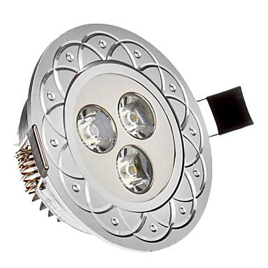 285 lm Gömme Işıklar 3 led Yüksek Güçlü LED Serin Beyaz AC 85-265V