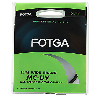 Fotga 55mm Ultra Slim Pro6 Mc Multi-Kaplamalı Uv Ultra-Violet Lens Koruyucu Filtre