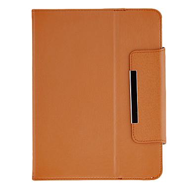 8 Inch Tablet (Brown) için Standı ile Moda Tasarımı Protectiove Vaka