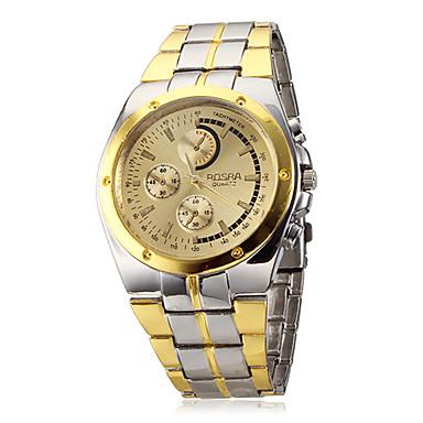 Bărbați Ceas de Mână Aviation Watch Quartz Argint / Auriu Ceas Casual Analog Charm Clasic extravagant - Alb Negru Auriu / Negru Doi ani Durată de Viaţă Baterie / SOXEY SR626SW