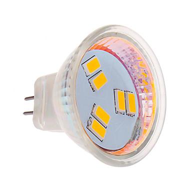 270 lm LED Σποτάκια MR11 6 leds SMD 5630 Θερμό Λευκό Ψυχρό Λευκό DC 12V