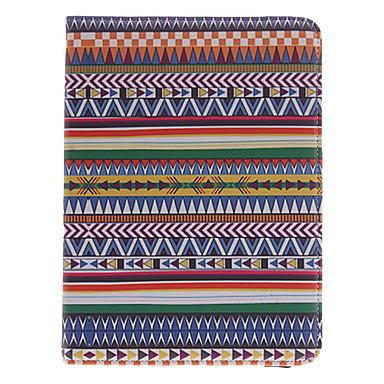 Için Samsung Galaxy Kılıf Satandlı / Flip / 360° Dönüş Pouzdro Tam Kaplama Pouzdro Çizgiler / Dalgalar PU Deri Samsung Tab 3 10.1