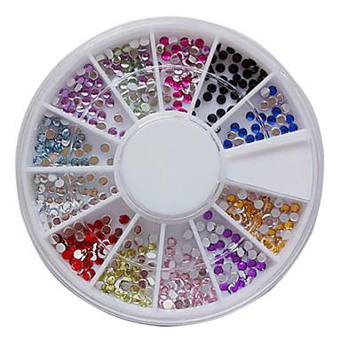 1 pcs Nail Jewelry / Glitter & Poudre / Dekorasyon Setleri Soyut / Punk / Düğün Sevimli Günlük / Arkilik