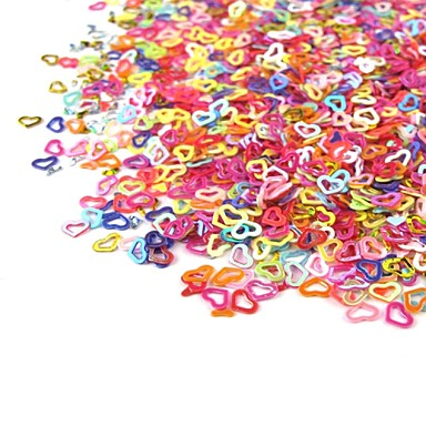 1 pcs Strălucire Nail Art Kit Bijuterie unghii Încântător nail art pedichiura si manichiura Zilnic Desen animat / Nuntă / Modă / Teracotă / Unghiul de bijuterii