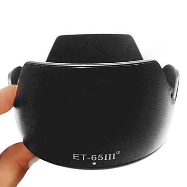 Fleur ET-65 III Lens Hood pour Canon EF 85mm 100mm 135mm 100-300 70-210mm ET-65III