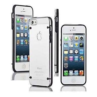 hoesje Voor iPhone 5 Apple iPhone 5 hoesje Glow in the dark Transparant Achterkant Effen Kleur Zacht TPU voor iPhone SE/5s iPhone 5