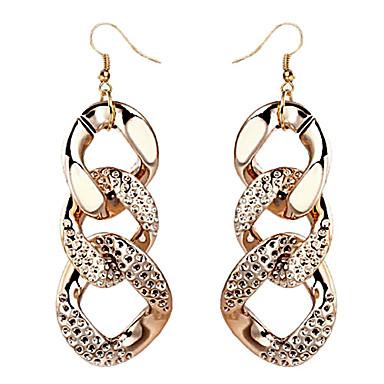 Earring Drop Earrings Jewelry Women Party / Daily Alloy Gold