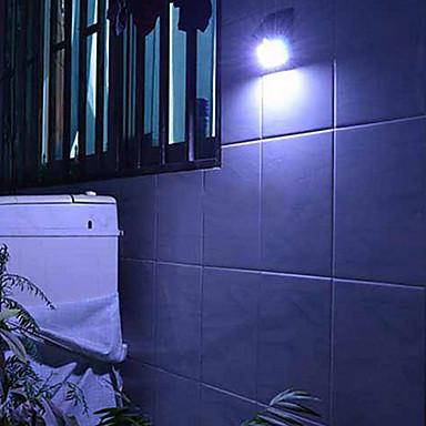 billige LED & Belysning-4-LED Solar Powered PIR Motion Sensor Udendørs Light