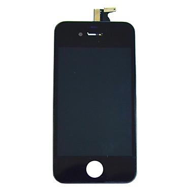 Ecran LCD en verre Digitizer écran tactile avec Framee pour iPhone 4 (noir)
