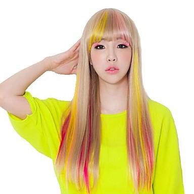 Birden fazla renk mevcut sentetik saç uzatma saç parçalar halinde klibi