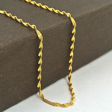 Altın Paslanmaz Çelik Günlük / Spor Mücevher