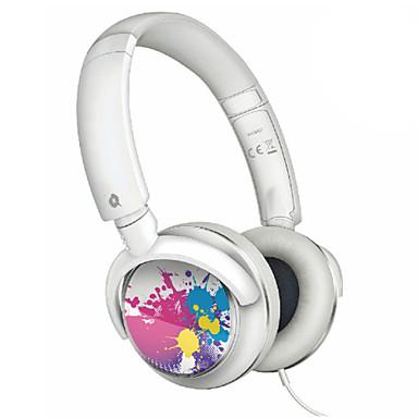 Kulak Üzerindeyim Saç Bandı Kablolu Kulaklıklar Dinamik Plastik Cep Telefonu Kulaklık kulaklık
