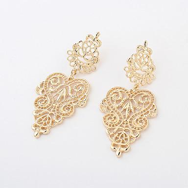 Druppel oorbellen Bohemia Style Europees Legering Goud Zilver Sieraden Voor 2 stuks