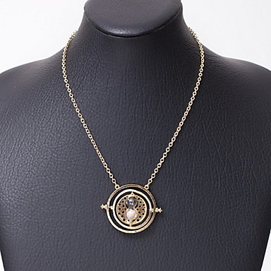 Necklace Pendant Necklaces / Vintage Necklaces Jewelry Daily / Casual Fashion Alloy Gold 1pc Gift