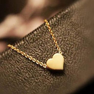 Kalp Aşk Kalp Uçlu Kolyeler alaşım Uçlu Kolyeler , Parti Teşekkür ederim Günlük sevgililer günü
